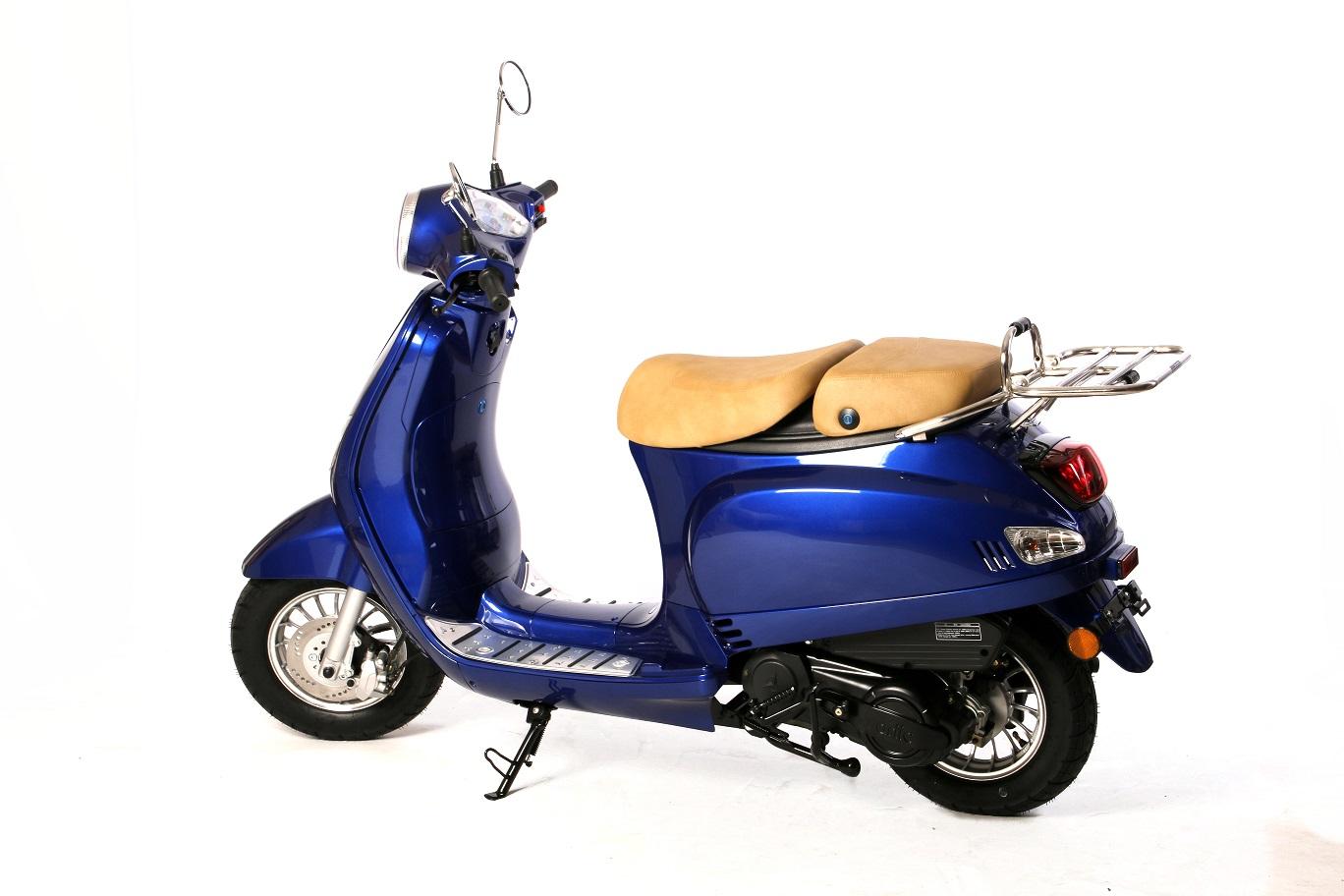 lintex ariic classic 125cc euro 4 efi the scooter warehouse. Black Bedroom Furniture Sets. Home Design Ideas