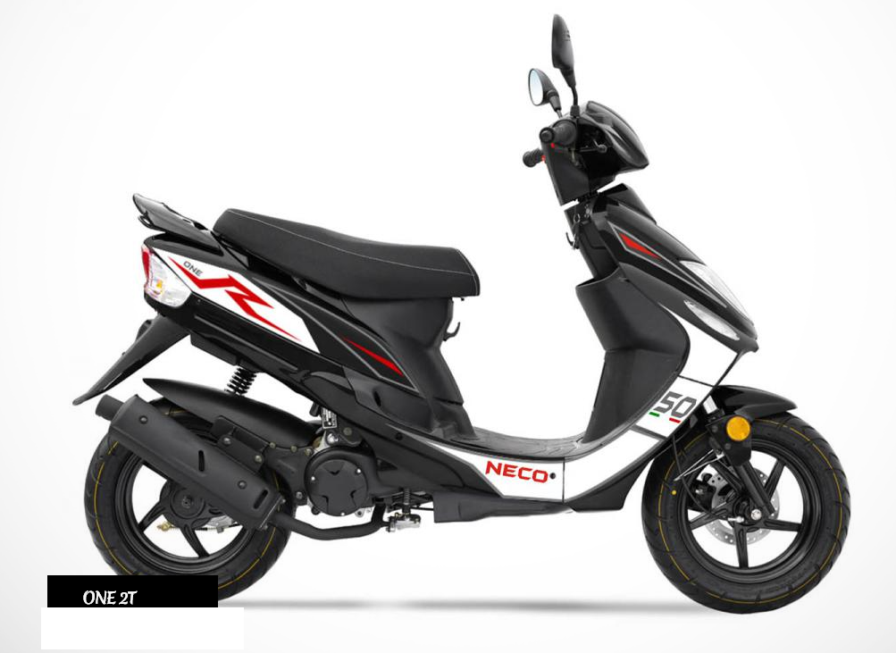 neco one 2 stroke 50cc the scooter warehouse. Black Bedroom Furniture Sets. Home Design Ideas